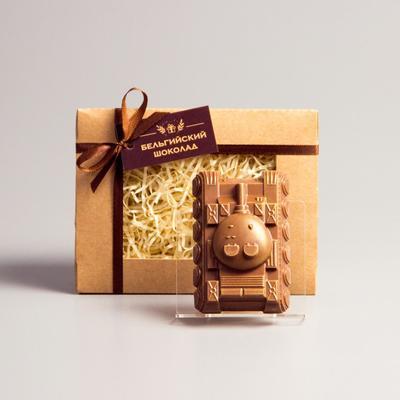Шоколадная фигурка «Танк», 80 г
