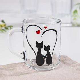 Кружка Доляна «Кошачье сердце», 200 мл