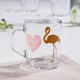 Кружка Доляна «Фламинго», 200 мл
