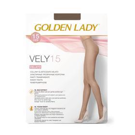 Колготки женские Golden Lady Vely, 15 den, размер 2, цвет daino