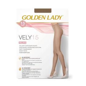 Колготки женские Golden Lady Vely, 15 den, размер 2, цвет melon