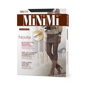 Колготки женские MiNiMi Novita, 380 den, размер 2, цвет grigio melange