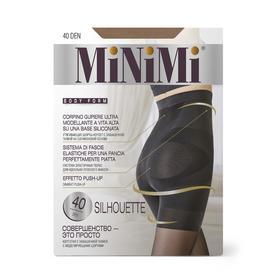 Колготки женские MiNiMi Silhouette, 40/140 den, размер 2, цвет caramello