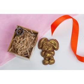 Шоколадная фигурка, Зайка, 80 г