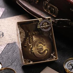 Шоколадная фигурка, Мешочек с евро, 120 г