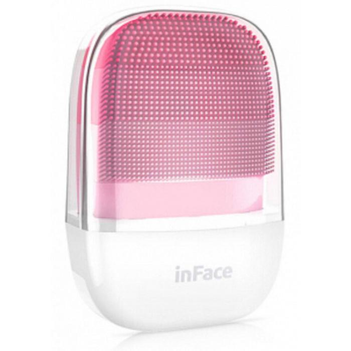 Аппарат для очистки лица inFace Electronic Sonic Beauty Facial MS-2000P, ультразвук, розовый