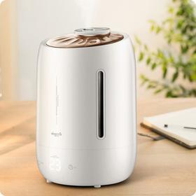 Увлажнитель воздуха Deerma Humidifier DEM-F600, ультразвуковой, 25 Вт, 310 мл/ч, 5 л, белый