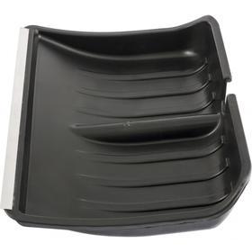 Ковш лопаты пластиковый, 355 × 475 мм, с планкой, «Сибртех» Ош