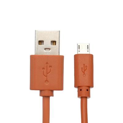 Кабель Red Line, Micro USB - USB, 1 А, 1 м, оранжевый