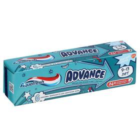 Зубная паста Aquafresh Advance, 9-13 лет, 75 мл