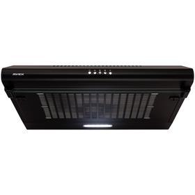 Вытяжка AVEX AS 6020 B, плоская, 200 м3/ч, 3 скорости, 60 см, чёрная