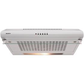 Вытяжка AVEX AS 6020 W, плоская, 200 м3/ч, 3 скорости, 60 см, белая