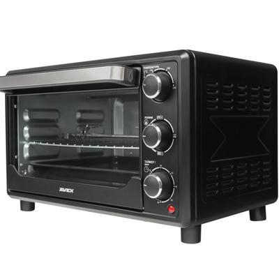 Мини-печь AVEX TR 300 BСL, 1380 Вт, 21 л, 100-250°С, гриль, чёрная - Фото 1