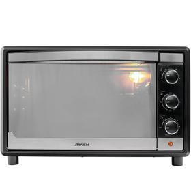 Мини-печь AVEX TR 350 MBCL, 1600 Вт, 35 л, 100-250°С, противень для пиццы, чёрная