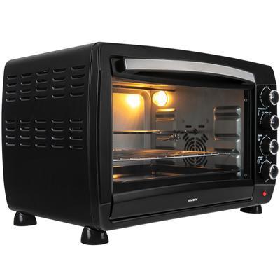 Мини-печь AVEX TR 450 BСL, 2000 Вт, 45 л, 100-250°С, гриль, чёрная