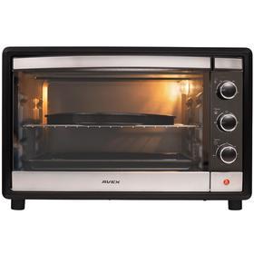 Мини-печь AVEX TR 450 MBCL pizza, 2000 Вт, 45 л, 100-250°С, противень для пиццы, чёрная