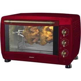 Мини-печь AVEX TR 450 RRСL, 2000 Вт, 45 л, 100-230°С, гриль, красная
