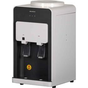 Кулер для воды AVEX DK-20W,  настольный, нагрев и охлаждение, 500/85 Вт, бело-серый