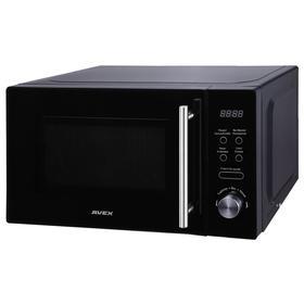 Микроволновая печь AVEX MW-2071 B, 700 Вт, 20 л, 5 режимов, чёрная