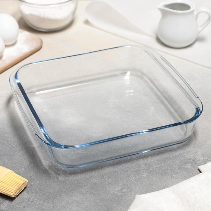 Блюдо для запекания квадратное Доляна «Лазанья», 1,8 л