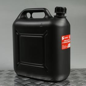 Канистра для ГСМ TORSO, 10 л, пластиковая Ош