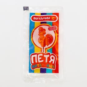 Карамель леденцовая на палочке с витамином С, 14 г