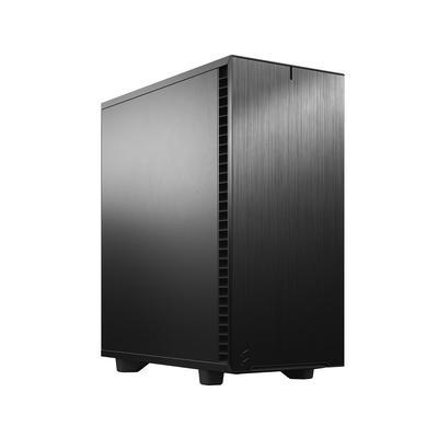 Корпус Fractal Design Define 7 Compact Black Solid, без БП, ATX, Midi-Tower, черный - Фото 1