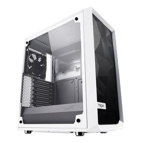 Корпус Fractal Design Meshify C TG, без БП, ATX, Midi-Tower, белый