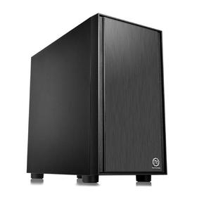 Корпус Thermaltake Versa H17, без БП, mATX, Mini-Tower, черный
