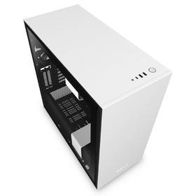 Корпус NZXT H710i CA-H710i-W1, без БП, E-ATX, Full-Tower, белый, чёрный