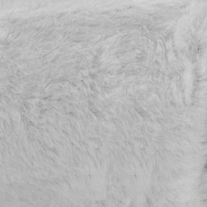 Мех искусственный белый, ширина 165 см