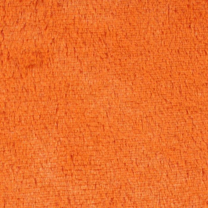 Мех на трикотажной основе цвет оранжевый, ширина 155 см