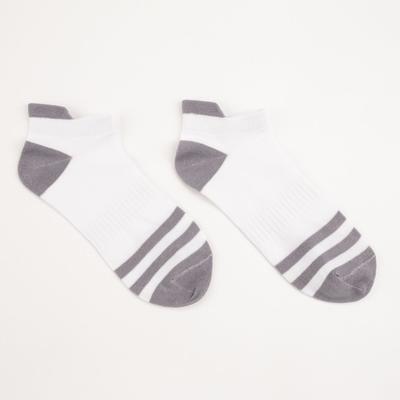 Носки женские, цвет серый, размер 23-25 - Фото 1