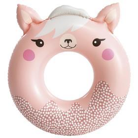 Круг для плавания «Милые зверята», 84 (91) см х 76 см, от 8 лет, до 40 кг, 59266NP, цвет микс Ош