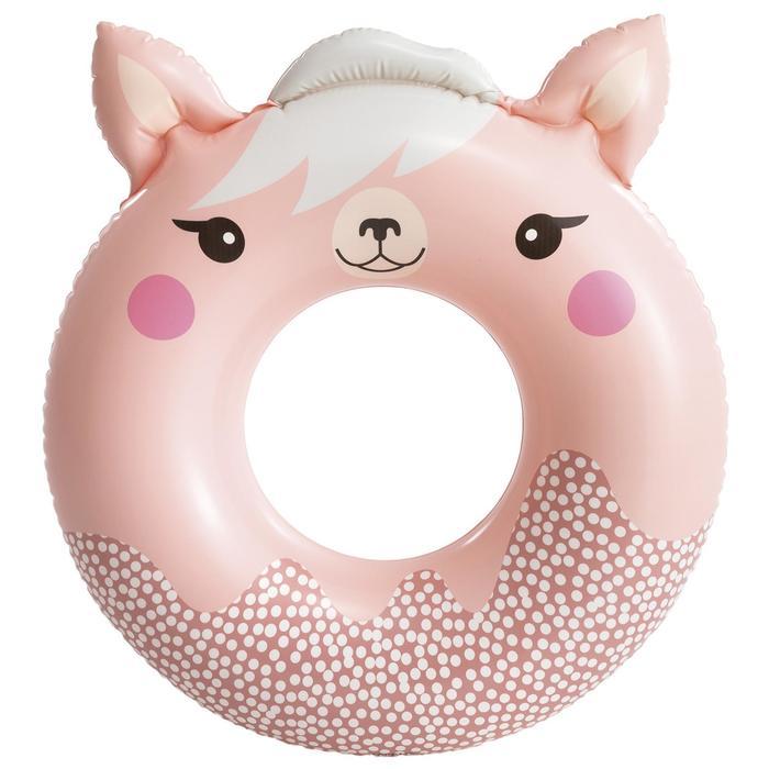 Круг для плавания Милые зверята, 84 91 см х 76 см, от 8 лет, до 40 кг, 59266NP, цвет микс