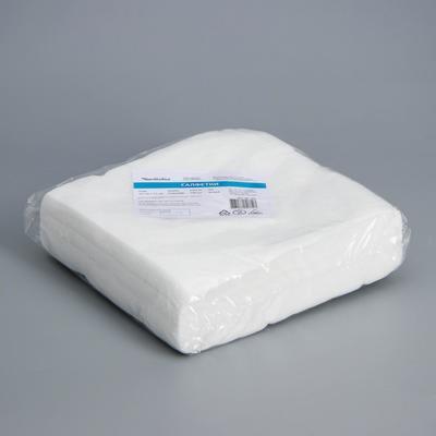 Салфетка одноразовая Чистовье, 20×20 см, 40 г/ м², спанлейс, 100 шт/уп, цвет белый - Фото 1