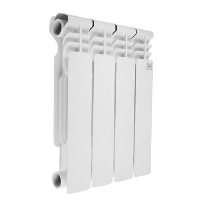 УЦЕНКА Радиатор биметаллический STI, 350 х 80 мм, 4 секции