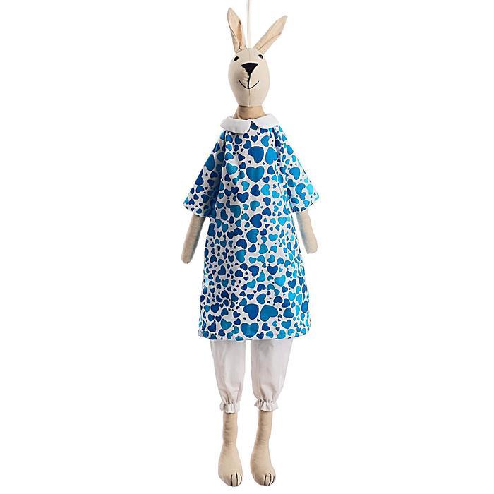 Мягкая игрушка Зайка Тильда, 83 см, цвета МИКС