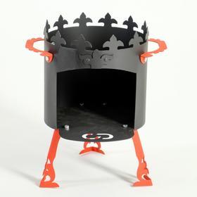 Печь под казан 'Ронда' 2 мм, диаметр 30 см Ош