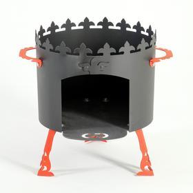 Печь под казан 'Ронда' 2 мм, диаметр 40 см Ош