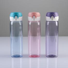 """Бутылка для воды """"Мастер К"""", 550 мл, 22 х 6 см, микс"""