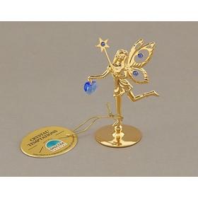 Сувенир «Фея со звездой», с кристаллами Сваровски Ош