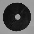 Круг приствольный, d = 0,4 м, спанбонд с УФ-стабилизатором, набор 5 шт., чёрный, Greengo, Эконом