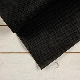 Полоса защитная для междурядий, 10 × 0,3 м, плотность 60 г/м², спанбонд с УФ-стабилизатором, чёрная, «Агротекс» Ош