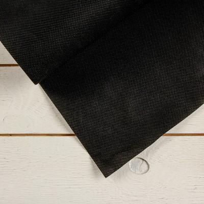 Полоса защитная для междурядий, 10 × 0,3 м, плотность 60 г/м², спанбонд с УФ-стабилизатором, чёрная, «Агротекс»