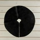 Круг приствольный, d = 0,4 м, плотность 60 г/м?, спанбонд с УФ-стабилизатором, набор 10 шт., чёрный, «Агротекс»