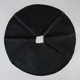 Круг приствольный, d = 0,6 м, плотность 60 г/м², спанбонд с УФ-стабилизатором, набор 10 шт., чёрный, «Агротекс» Ош