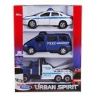 Набор из 3-х машин «Полиция»