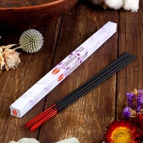 Благовония 'HEM Vanilla' (Ваниль), четырехгранник, 8 палочек Ош