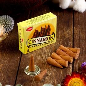 Благовония 'HEM Cinnamon' (Корица), 10 конусов Ош